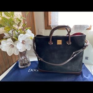 Dooney Bourke suede Chelsea Shopper